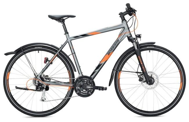Trekkingbike Morrison X 2.0 Herren / grey-orange 2020