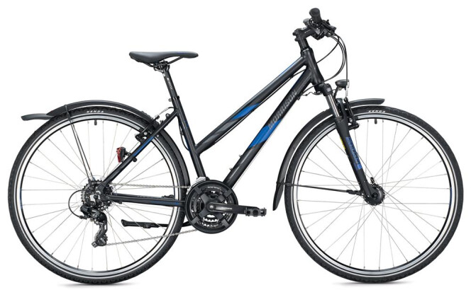 Trekkingbike Morrison X 1.0 Trapez / black-dark blue 2020