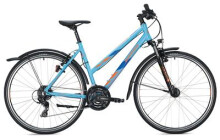 Trekkingbike MORRISON X 1.0 Trapez / light blue-dark blue