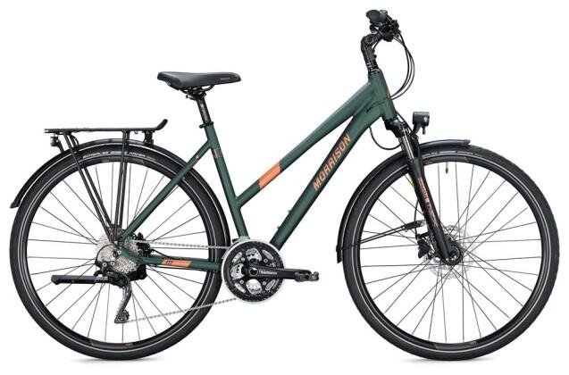 Trekkingbike Morrison T 6.0 Trapez / dark green-copper 2020