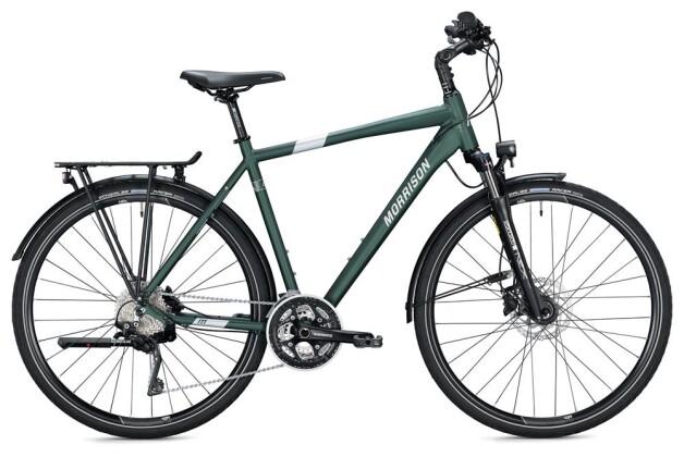 Trekkingbike Morrison T 6.0 Herren / dark green-silver 2020