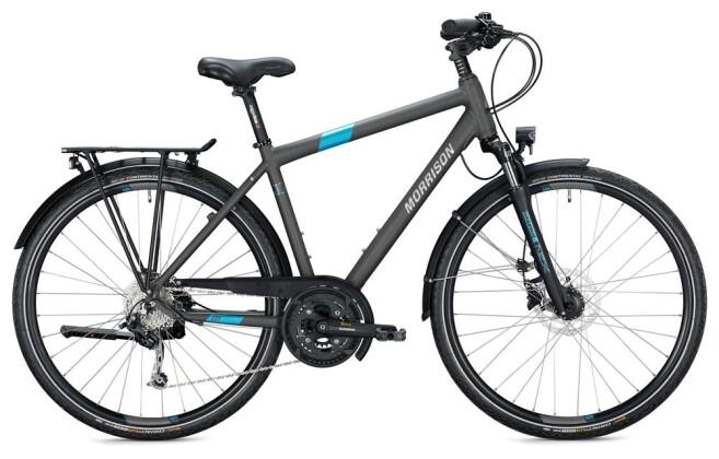 Trekkingbike Morrison T 5.0 PLUS Herren / titanium-blue 2020