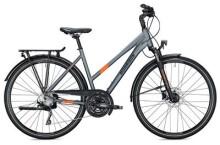Trekkingbike MORRISON T 5.0 Trapez / grey-orange