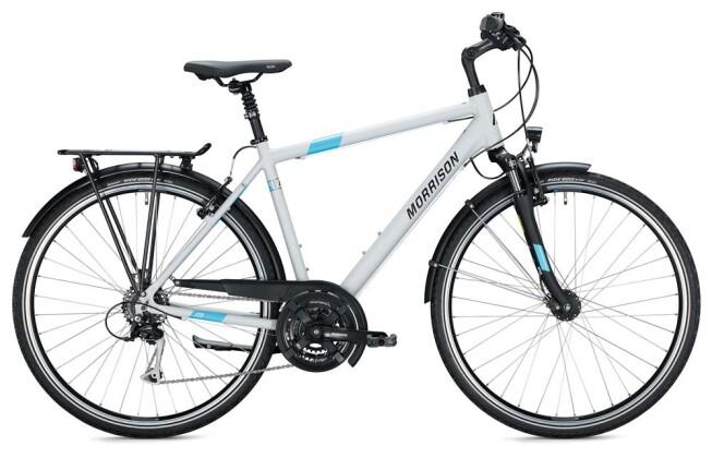 Trekkingbike Morrison T 2.0 Herren / grey-light blue 2020