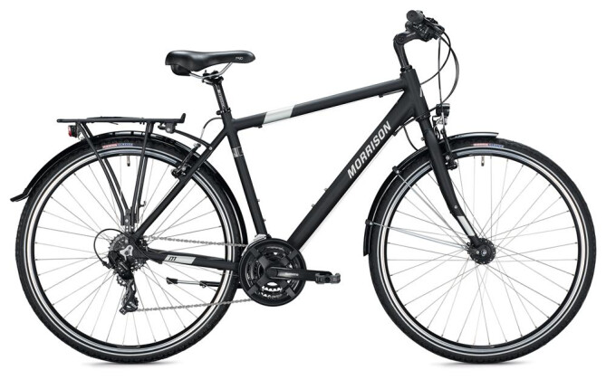 Trekkingbike Morrison T 1.0 Herren / black 2020