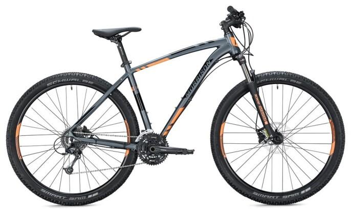 "Mountainbike Morrison BLACKFOOT 29"" / anthracite-neon orange 2020"