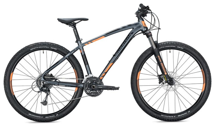 "Mountainbike Morrison BLACKFOOT 27,5"" / anthracite-neon orange 2020"