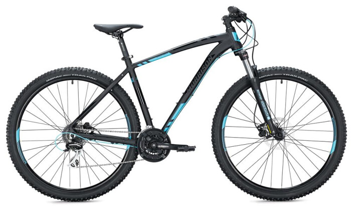"Mountainbike Morrison COMANCHE 29"" / black-neon blue 2020"