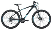 "Mountainbike Morrison COMANCHE 27,5"" / black-neon blue"