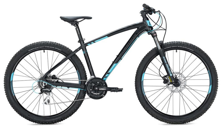 "Mountainbike MORRISON COMANCHE 27,5"" / black-neon blue 2020"
