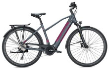 E-Bike MORRISON E 7.0 Trapez / grey metallic-berry