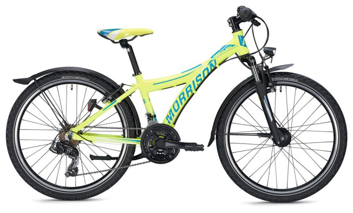 Kinder / Jugend Morrison MESCALERO S24 Y-Typ / neon yellow-dark blue 2020