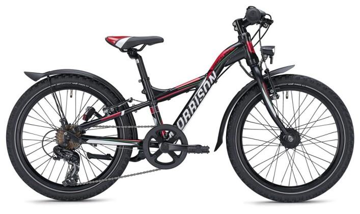 Kinder / Jugend Morrison MESCALERO S20 Y-Lite / black-red 2020