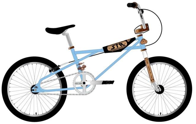 BMX SE Bikes STR-1 QUADANGLE 2020