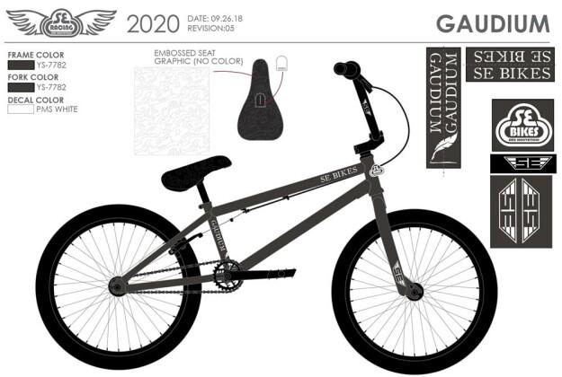 BMX SE Bikes GAUDIUM 2020