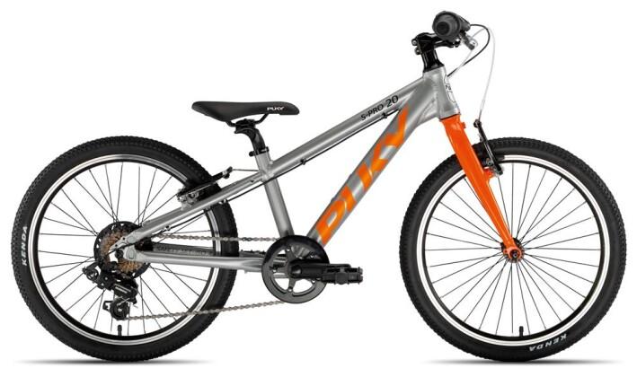 Kinder / Jugend Puky S-Pro 20-7 Alu silber/orange 2020