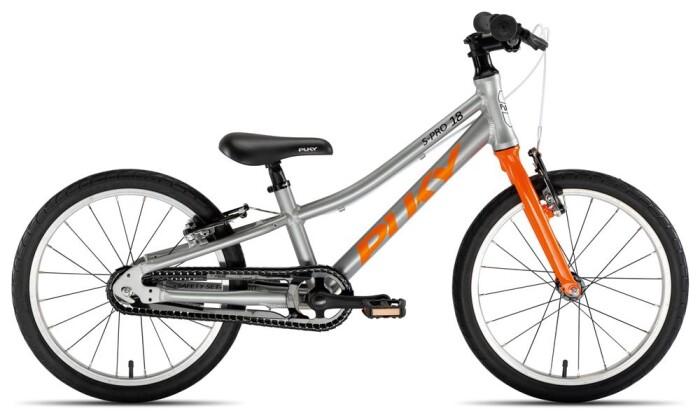 Kinder / Jugend Puky S-Pro 18-1 Alu silber/orange 2020