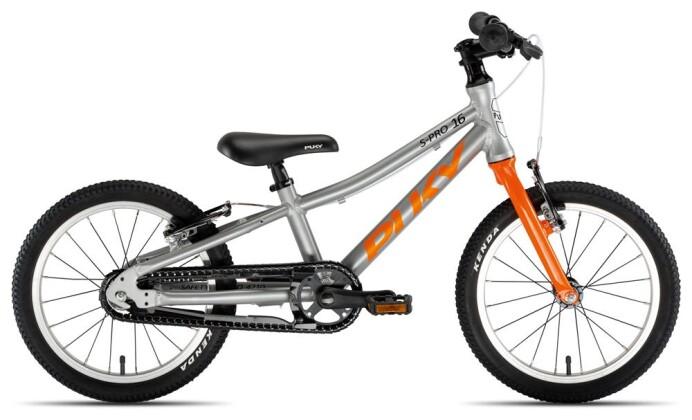 Kinder / Jugend Puky S-Pro 16-1 Alu silber/orange 2020