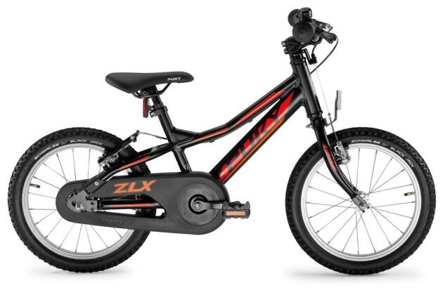 Kinder / Jugend Puky ZLX 16-1F Alu schwarz 2020