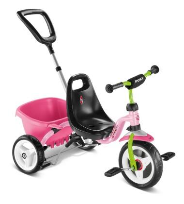 Kinder / Jugend Puky CAT 1S rosé / kiwi 2020