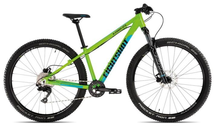 Kinder / Jugend Eightshot X-COADY 275 Race green/blue 2020
