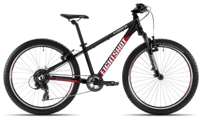 Kinder / Jugend Eightshot X-COADY 24 FS black/red/white 2020