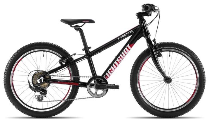 Kinder / Jugend Eightshot X-COADY 20 black/red/white 2020