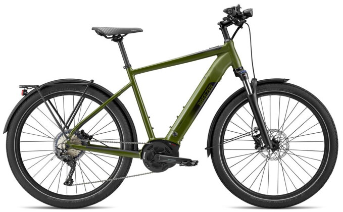 E-Bike Breezer Bikes Powerwolf Evo SM + 2020