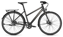 Citybike Raleigh NIGHTFLIGHT DLX magicblack Trapez
