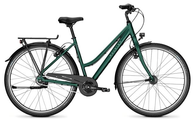 Citybike Raleigh DEVON HS kombugreen Trapez 2020