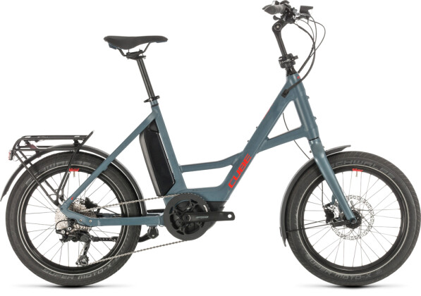 "E-Bike Cube 20"" Compact Sport Hybrid blue´n´red 2020"