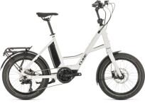 "e-Kompaktrad Cube 20"" Compact Sport Hybrid white´n´black"