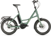 """E-Bike Cube 20"""" Compact Hybrid green´n´green"""