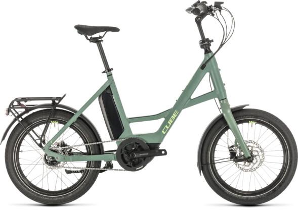 """E-Bike Cube 20"""" Compact Hybrid green´n´green 2020"""
