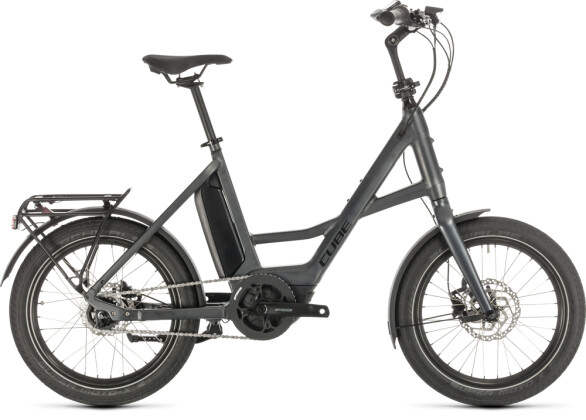 """E-Bike Cube 20"""" Compact Hybrid iridium´n´black 2020"""