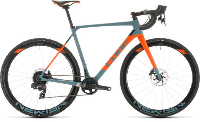 Rennrad Cube Cross Race C:62 SLT bluegrey´n´orange 2020