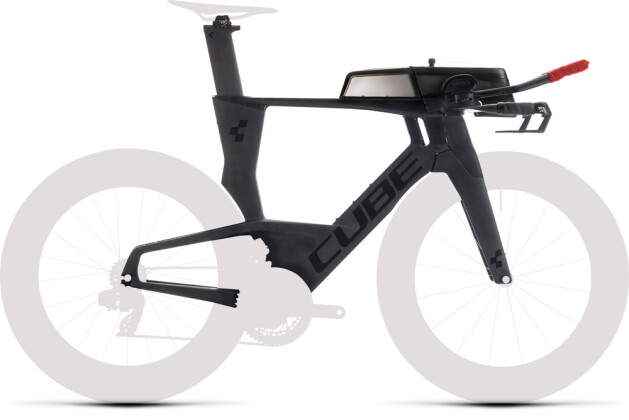 Race Cube Aerium C:68 Rahmenset LOW carbon´n´red 2020