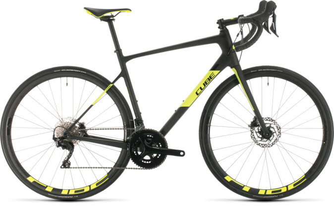 Race Cube Attain GTC Race carbon´n´flashyellow 2020