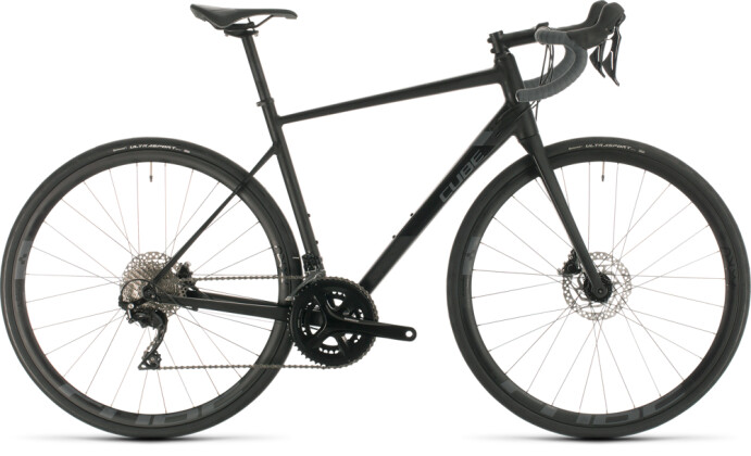 Rennrad Cube Attain SL black´n´grey 2020