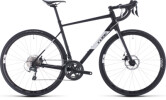 Rennrad Cube Attain Race black´n´white