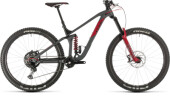 Mountainbike Cube Stereo 170 TM 29 grey´n´red