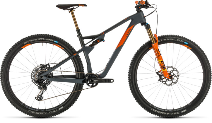 Mountainbike Cube AMS 100 C:68 TM 29 grey´n´orange 2020