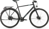 Trekkingbike Cube Travel Exc iridium´n´blue