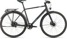 Trekkingbike Cube Travel Exc iridium´n´blue