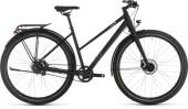 Trekkingbike Cube Travel Pro black´n´brown