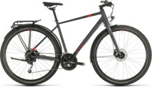 Trekkingbike Cube Travel iridium´n´red