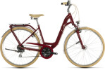 Citybike Cube Ella Ride red´n´cream