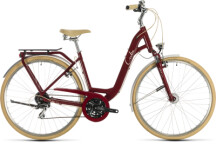 Citybike Cube Ella Ride red´n´cream