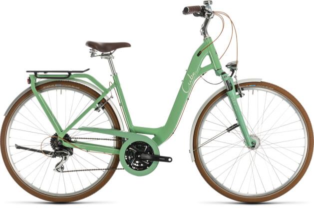Citybike Cube Ella Ride green´n´cream 2020