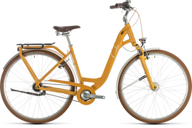 Citybike Cube Ella Cruise yellow´n´white 2020